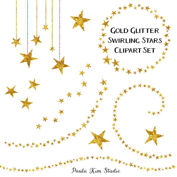 Shooting Star clipart glitter star Free  Free Coral Art