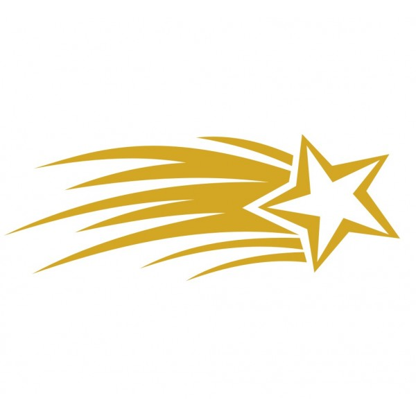 Shooting Star clipart golden star Star white star and Shooting