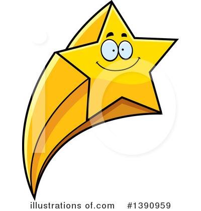 Shooting Star clipart illustration (RF) Clipart Cory Illustration Shooting