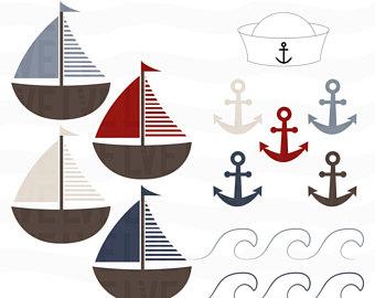 Shooting Star clipart kindergarten Hat Nautical Anchor Sea Stars