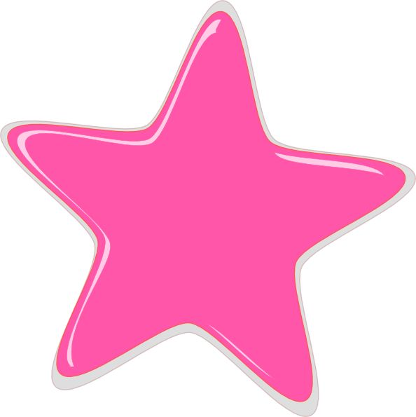 Shooting Star clipart pink Clip Star and royalty Pinterest