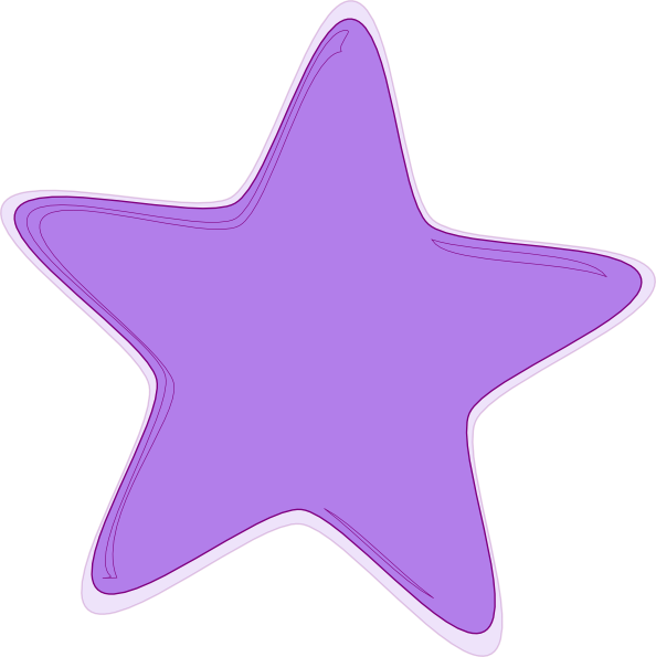 Shooting Star clipart pink Free on Art Clker Clip