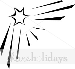 Shooting Star clipart single The Clipart Star Star Star