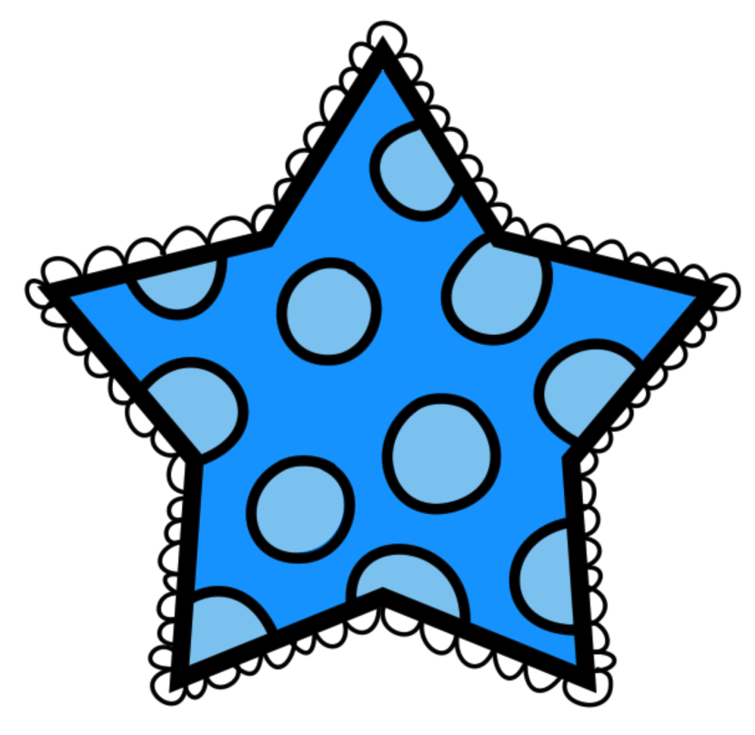 Dots clipart star Student #oxygenmonitor Student Clipart White