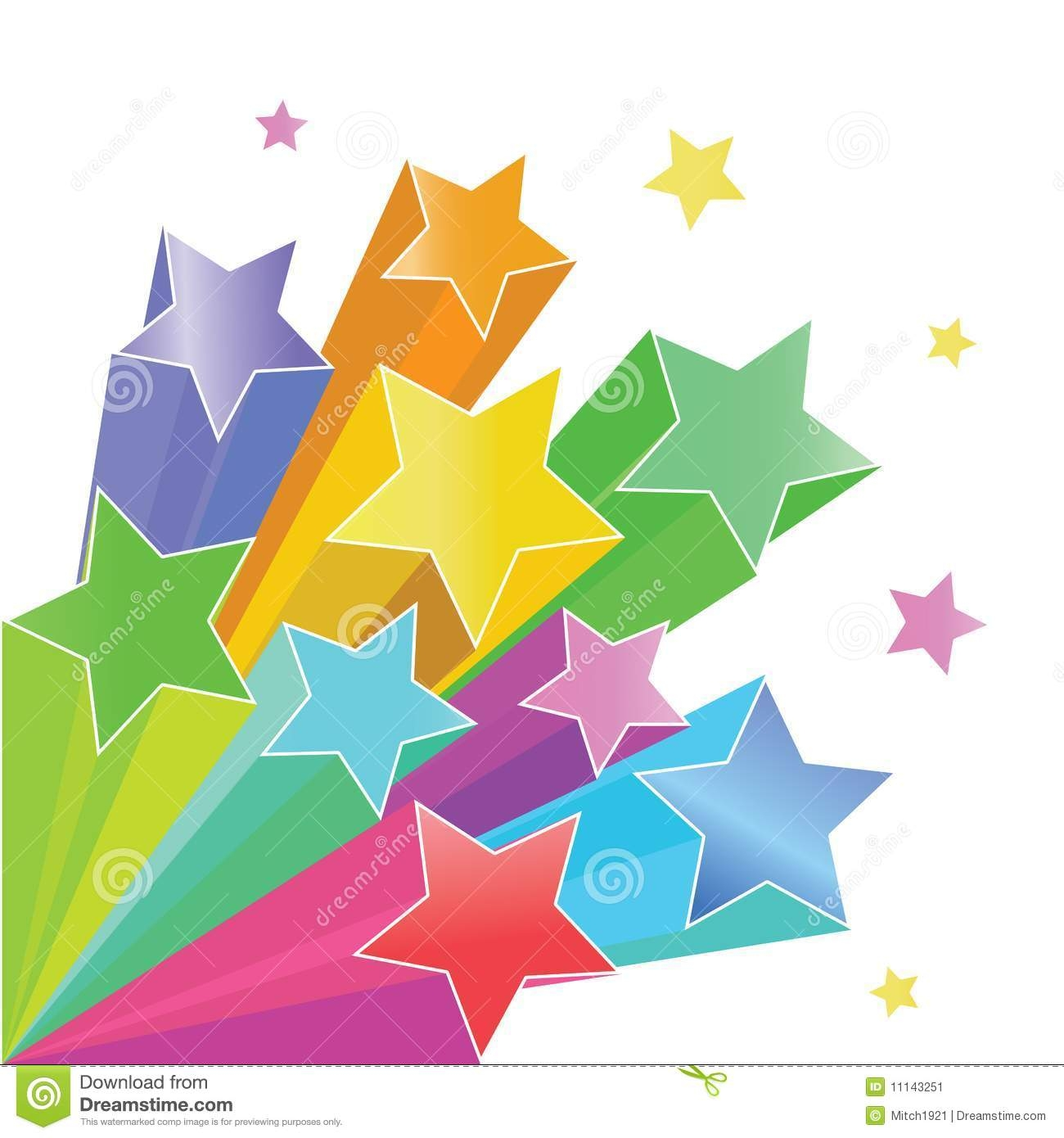 Shooting Star clipart outer space Rainbow Shooting Clipart Shooting Rainbow