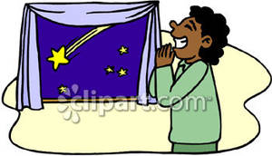 Shooting Star clipart wishing star Star a Picture Wishing Free
