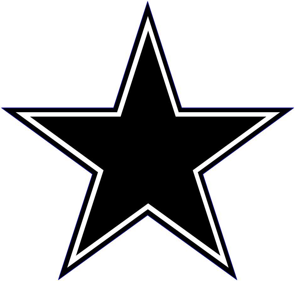 Black clipart star For  Star Best Clipart
