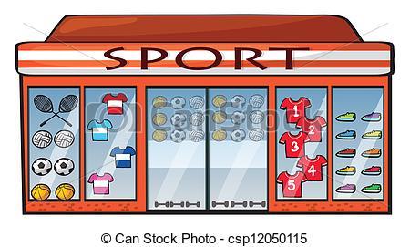 Shop clipart Illustration A shop csp12050115 Art