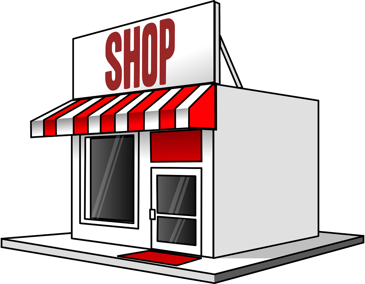 Store clipart Use & Art Art to