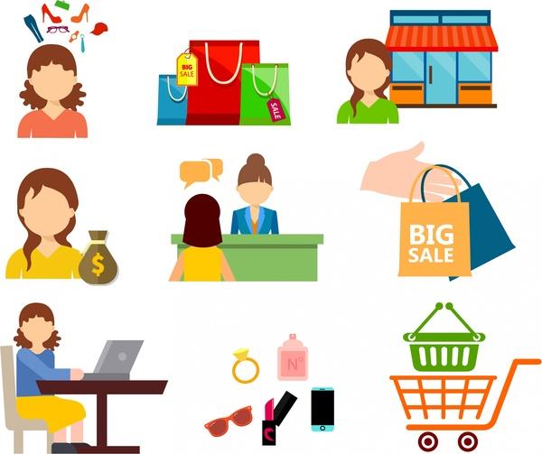 Shop clipart consumer Vector Customer icons design icon