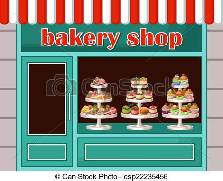 Display clipart bakery Clipart art bakery Image a