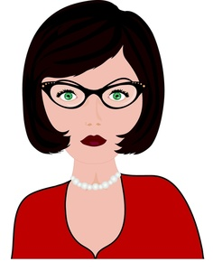 Short Hair clipart aunt Short Short Hair Clipart Download