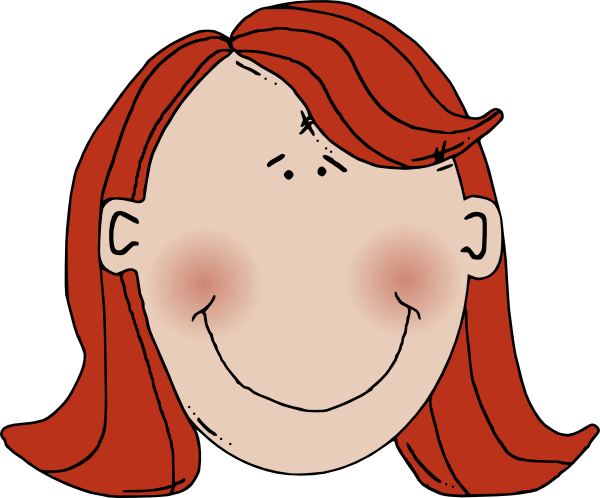 Short Hair clipart different face Clipart clipart drawings #17 Download