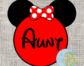 Short Hair clipart aunt Shirt T disney Family DOWNLOAD