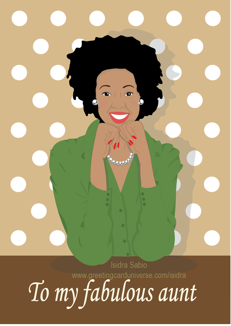 Short Hair clipart aunt Amazing my our card To