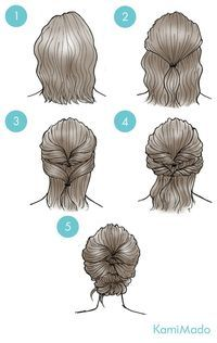 Short Hair clipart hairstyle Find Hairstyles Pinterest Curly on