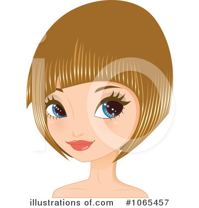 Short Hair clipart hairstyle Royalty hairstyles Princess illustrations short