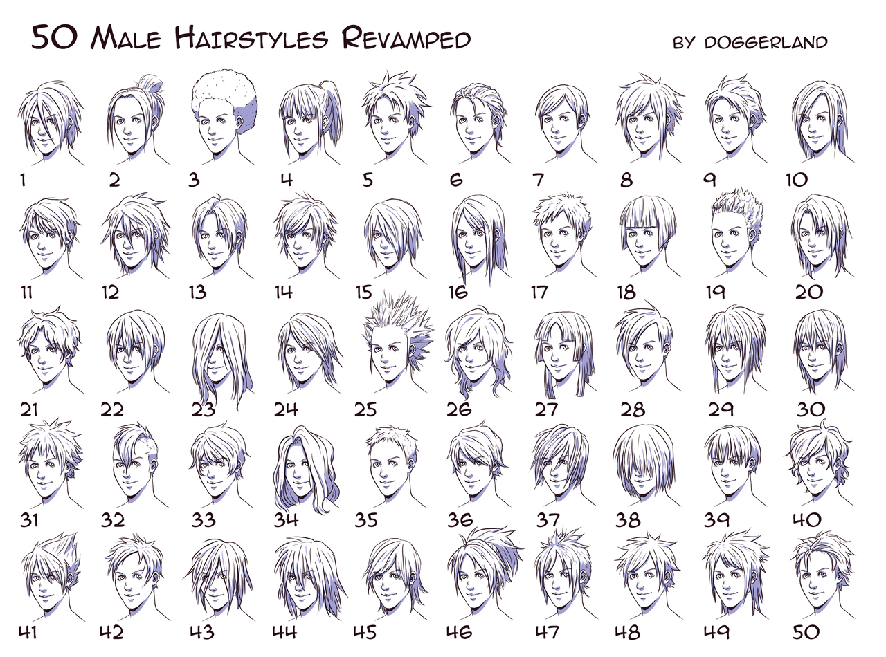 Short Hair clipart man side view For Side Guys View Hairstyles