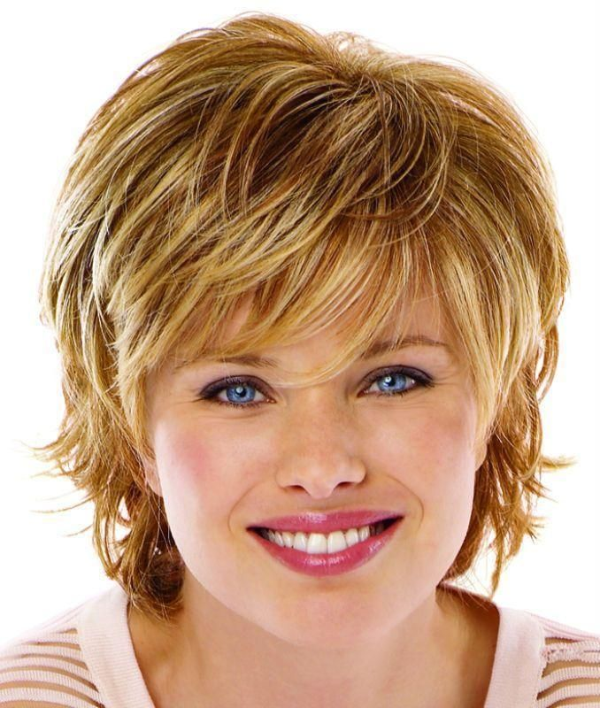 Short Hair clipart round face Women's Short faces round on