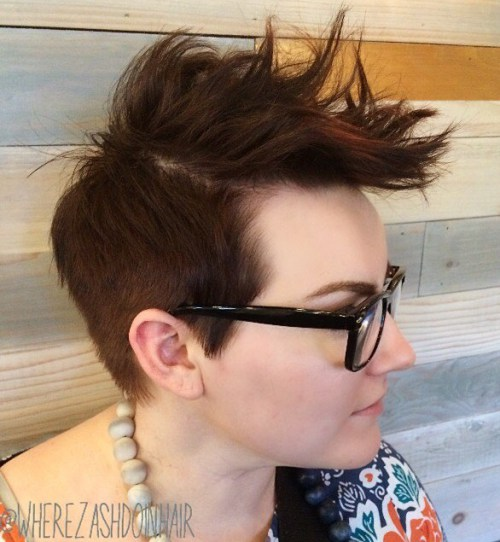 Short Hair clipart spiked Hairstyle Top Sides Long Beautiful