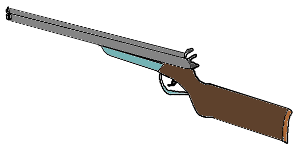 Drawn shotgun cartoon Clipart Clipart shotgun%20clipart Clipart Free