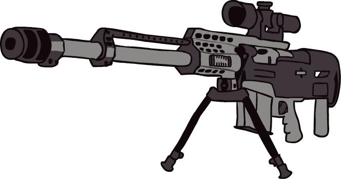 Shotgun clipart barrett AMaleAlicorn by DeviantArt Barrett 6