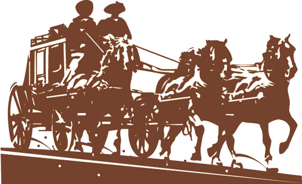 Shotgun clipart stagecoach Colorado legendary story Mary of