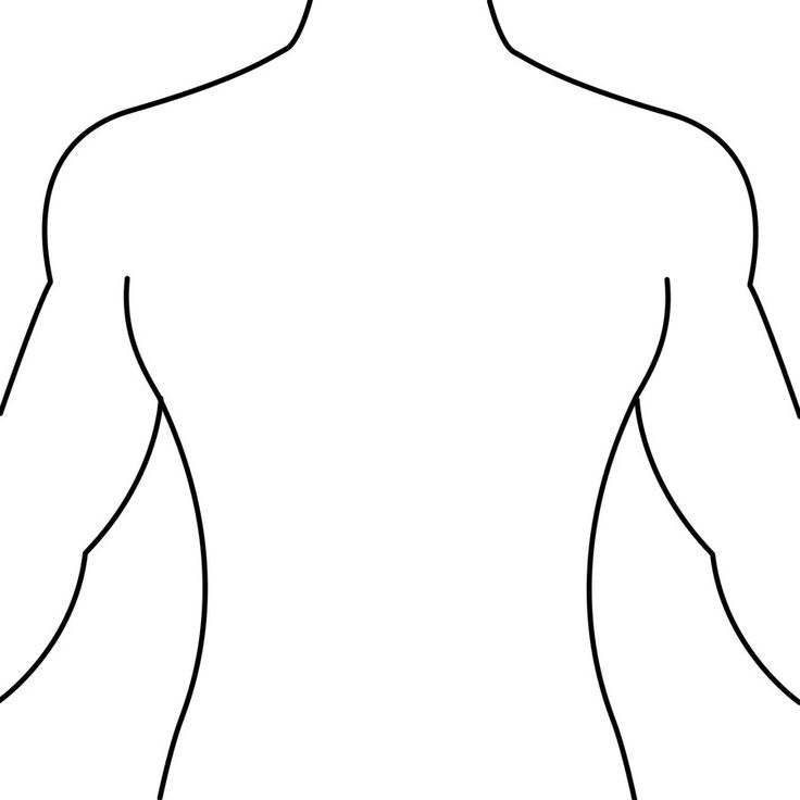 Rear clipart body part Back Collection free Rf back