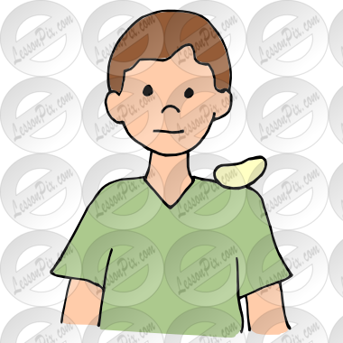 Shoulder clipart chip on Therapy Shoulder Picture Chip Shoulder