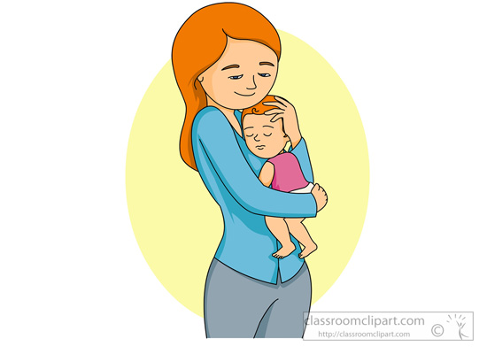 Mother And Baby clipart boy Head From: with Search for