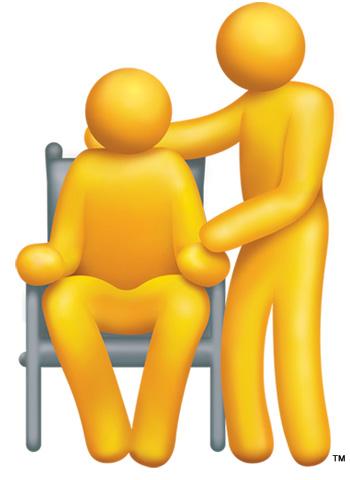 Comfort clipart supportive Senior Hand WI Senior Care