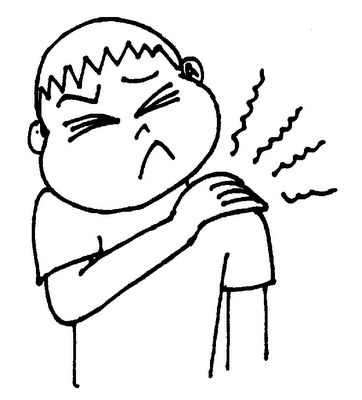 Shoulder clipart neck Pain pain for Showing clipart