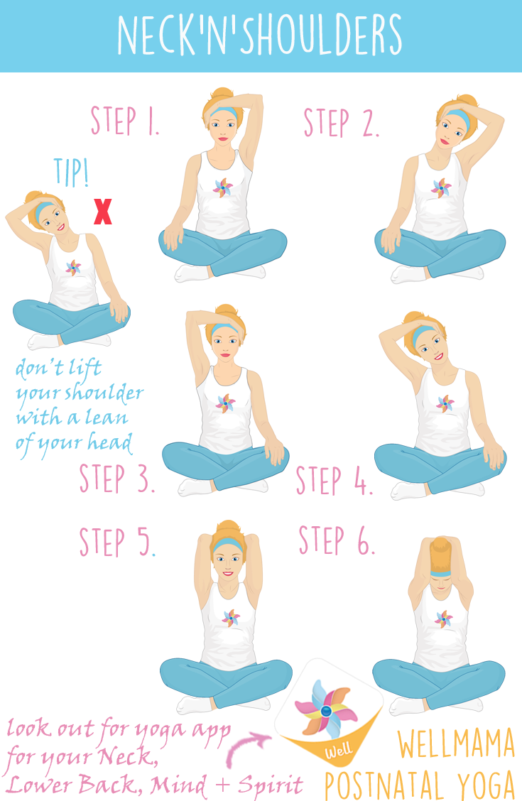 Shoulder clipart neck  Mothers' Exercises pain Relief