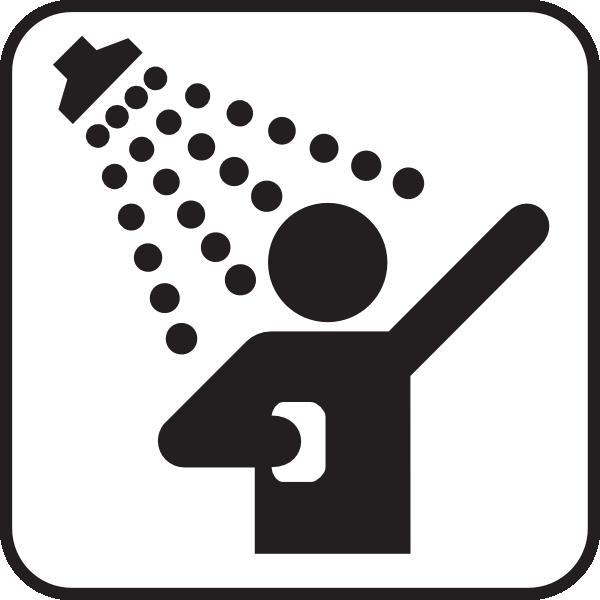 Shower clipart Clker Clip Download at com