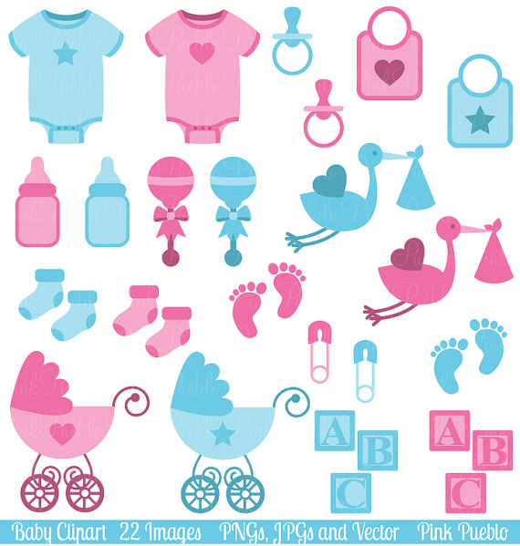 Baby clipart baby shower Personal Clip Baby Clip Baby