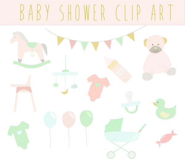 Baby clipart baby shower Vintage Baby  Download Baby