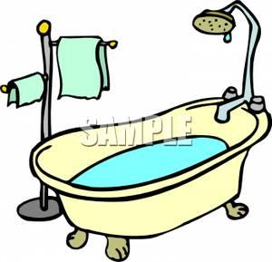 Bathroom clipart kid shower Clipart Royalty tile Clipart Tub