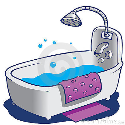 Bathroom clipart kid shower Shower  Bathroom Clipart