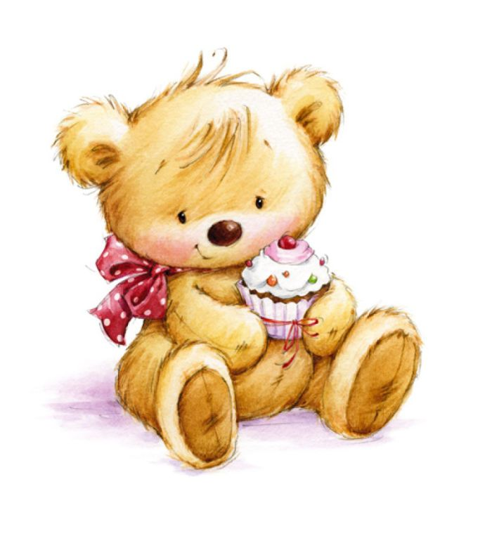 Teddy clipart kids toy #7