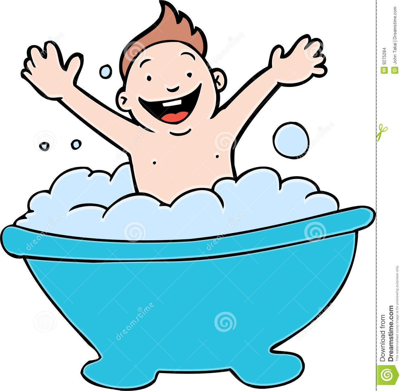 Bathroom clipart kid shower A To collection Bath Baby