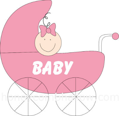 Baby clipart baby shower Cute Too Baby Shower Clip