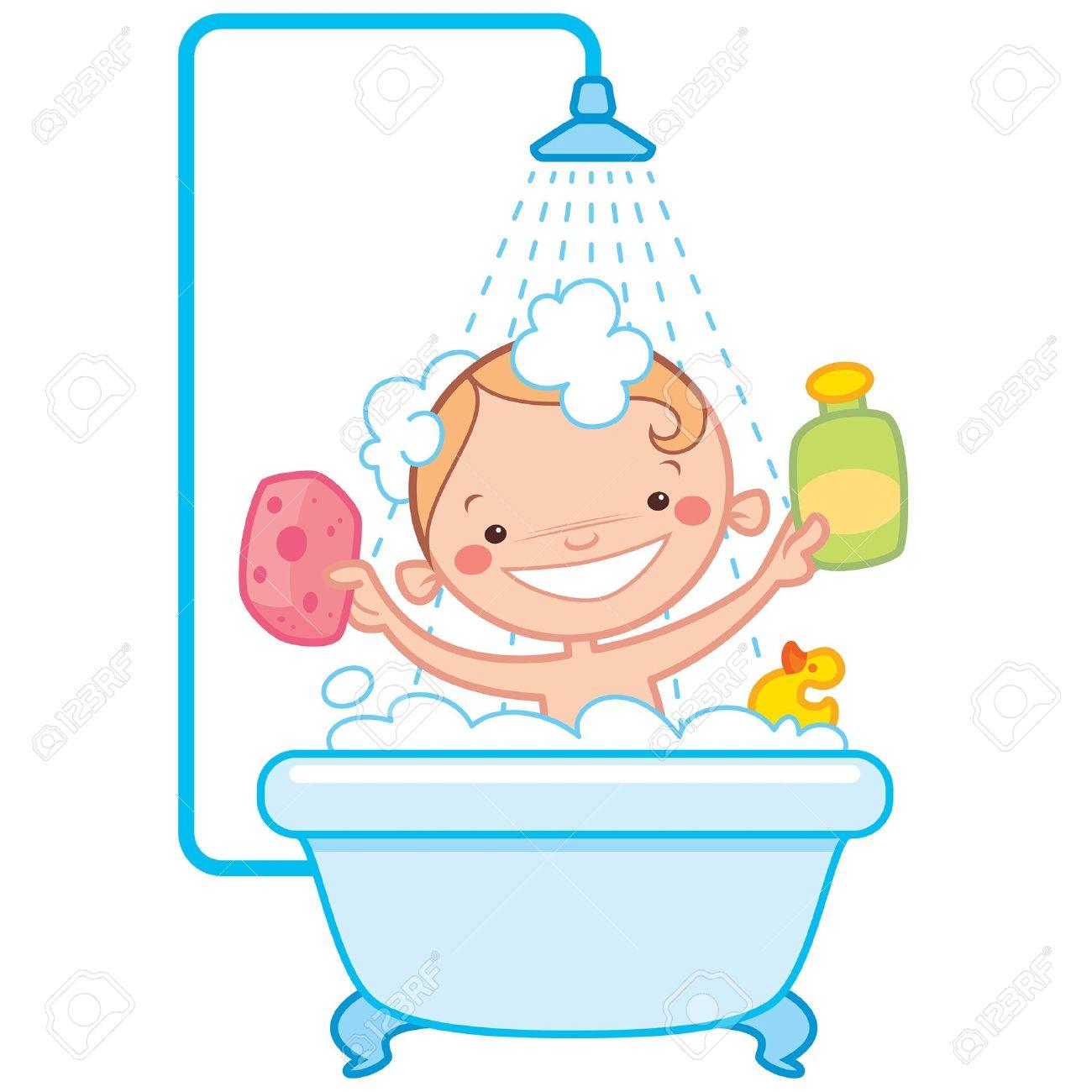 Bathroom clipart kid shower Bath Have clipart Baby bath