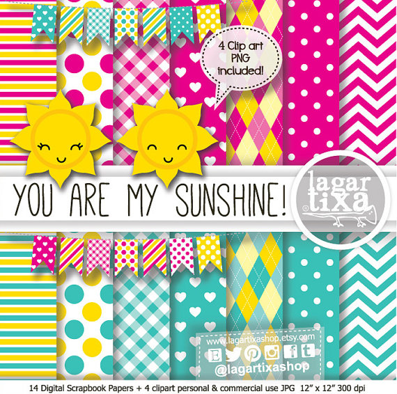 Dots clipart sun Are Little and Banner Sun
