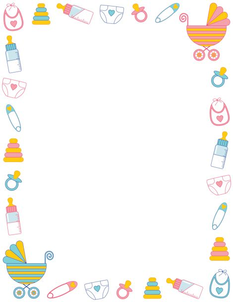 Baby clipart frame On Baby Pin images shower