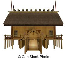 Shrine clipart Imperial  Shrine white Art