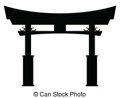 Shrine clipart Typical  Shrine gate Art