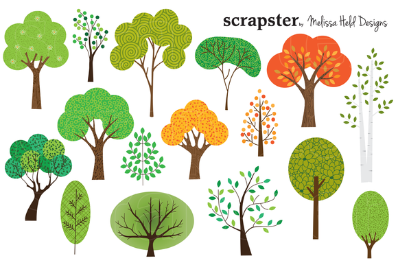 Birch clipart woodland tree Tree To Clipart Trees Out!