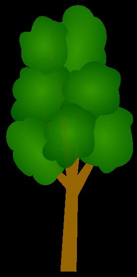 Tree clipart tall #1