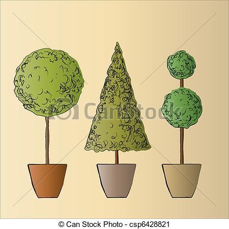 Shrub clipart topiary Topiary Clip Clipart – Art