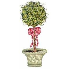 Shrub clipart topiary Clip topiary free Art Garden